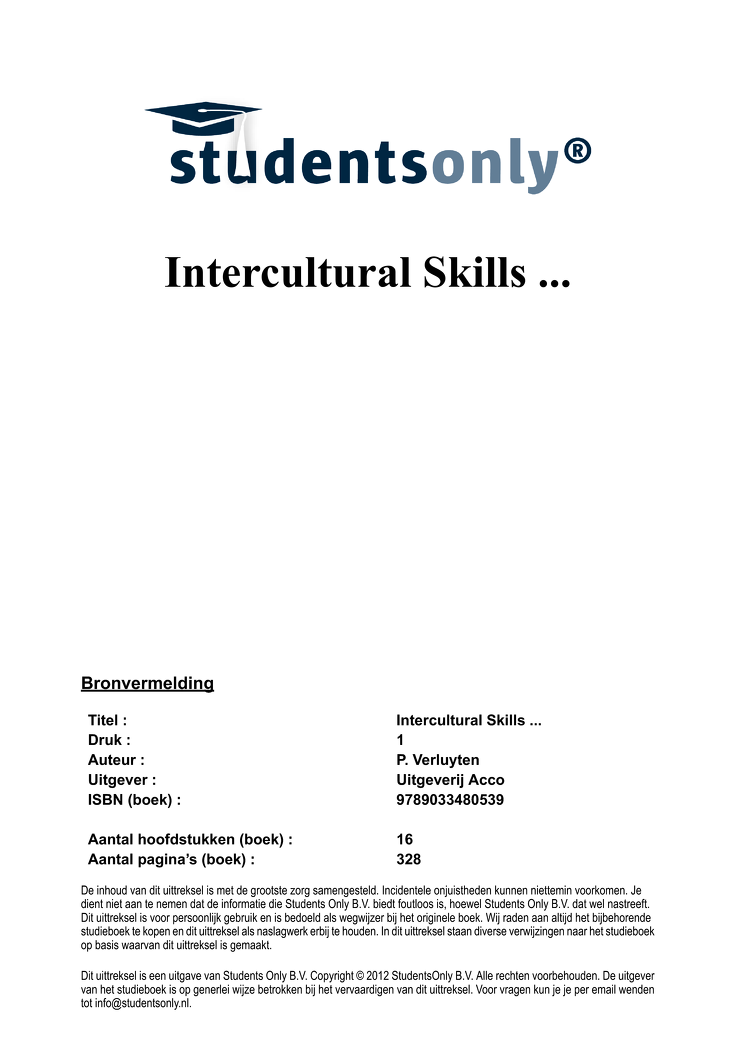 intercultural skills for international business and international relations Why employers value intercultural skills the united kingdom's international organisation for cultural relations and educational opportunities.