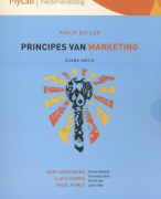 Principes van Marketing 6e editie, Kotler