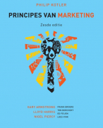 Samenvatting Marketing toepassing, (Principes van Marketing, Philip Kotler)