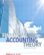 Samenvatting in excel van het boek Financial accounting theory - Scott 7