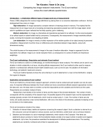 Summary of the Articles for Communication Research and Design