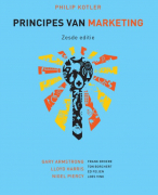 Samenvatting: Principes van marketing