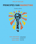 Samenvatting Principes van marketing, 6e editie - Philip J. Kotler